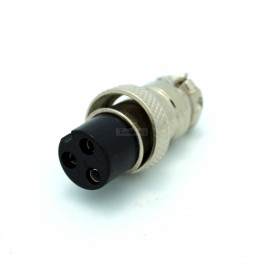 Female Round 3 Pin Connector
