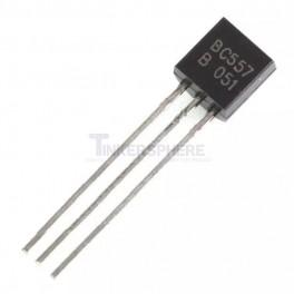 BC557 PNP Transistor 45V 0.1A