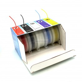 Stranded Silicone Hook Up Wire Box Set: 5 Color 50m / 164 ft Pack