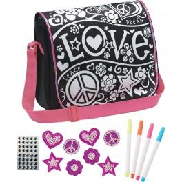 Sparkle 'n Sequin DIY Messenger Bag