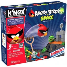 Angry Birds Space Set Super Red vs Small Minion Pig
