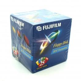 Fujifilm 3.5in. High Density Floppy Disk 25 pack