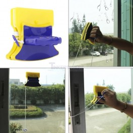 Magnetic Glass Cleaner Double Side Magnetic Window Cleaner Glass Wiper