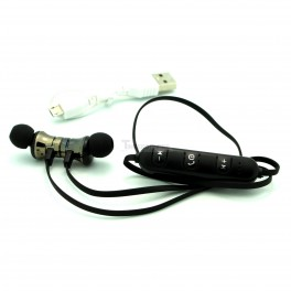 Magnetic Bluetooth In-Ear Headphones with Volume, Pause and Play Buttons