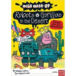 Robots vs Gorillas Book