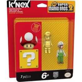 Golden Mario, Fire Luigi & Mystery Figure