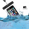 "Waterproof Phone Case: Fits phones up to 5 1/2"" x 3"""