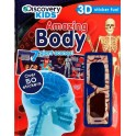 Discovery Kids Amazing Body 3D Sticker Fun Activity Book