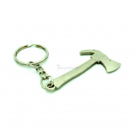 Metal Axe Keychain