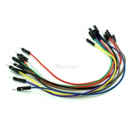 Male to Male Jumper Wires (10 pack)