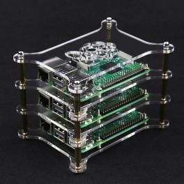 Raspberry Pi Cluster Case (3 Tier)