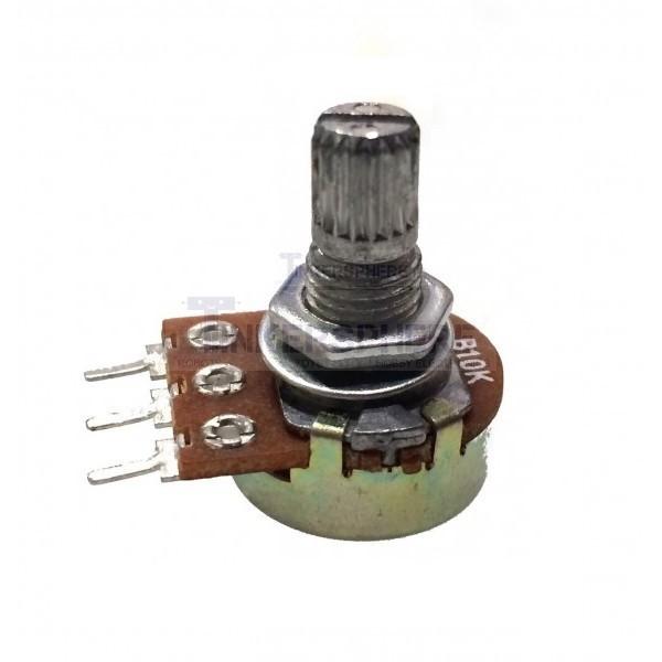 1 Set Useful 10K OHM Linear Taper Rotary Potentiometer 10KB B10K Pot Hot Sale