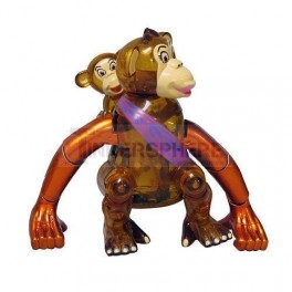 Monkey Mama Windup Toy