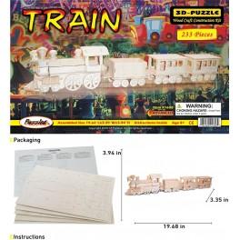Train Wood 3D Puzzle