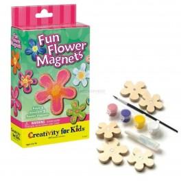 Fun Flower Magnets