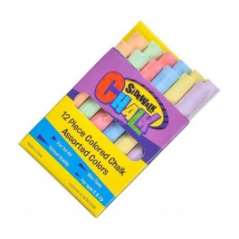 Sidewalk Chalk 12 Box Multi Colored