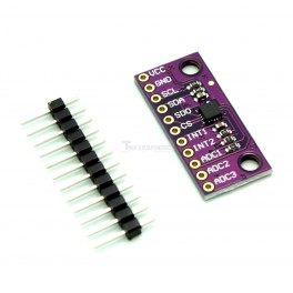 LIS3DSH High Resolution 16 bit Triple Axis Accelerometer (+-2g/4g/8g/16g)