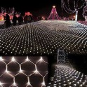 32.8 x 26.2 foot Cool White LED Net Lights