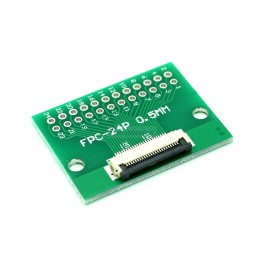 24 Pin 0.5mm & 1mm pitch FPC to DIP Breakout