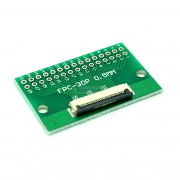 30 Pin 0.5mm & 1mm pitch FPC to DIP Breakout