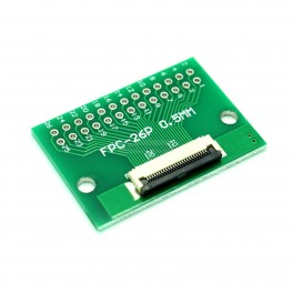 26 Pin 0.5mm & 1mm pitch FPC to DIP Breakout
