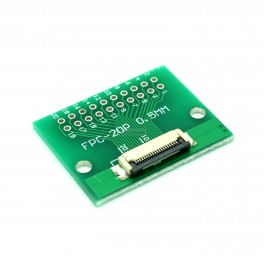 20 Pin 0.5mm & 1mm pitch FPC to DIP Breakout