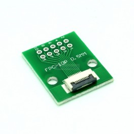 10 Pin 0.5mm & 1mm pitch FPC to DIP Breakout
