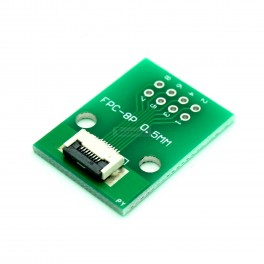 8 Pin 0.5mm & 1mm pitch FPC to DIP Breakout