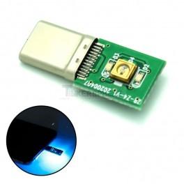 UV-C Disinfection LED USB C Dongle
