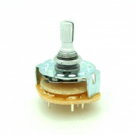 5 Position Rotary Switch: 2P5T
