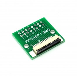 16 Pin 0.5mm & 1mm pitch FPC to DIP Breakout