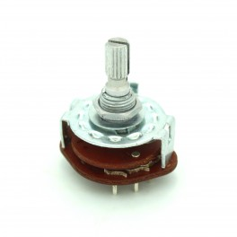 3 Position Rotary Switch: 2P3T
