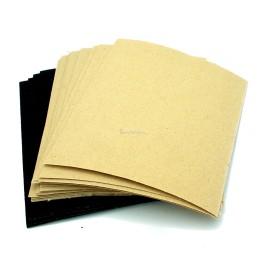 "24pc Sandpaper Set Dry & Wet Abrasive, 4.5""x5.5"""