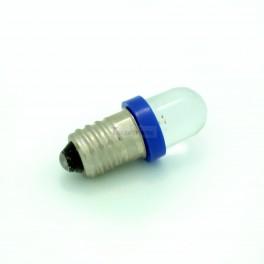 Blue Mini E10 Light Bulb / Lamp - 12V
