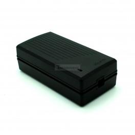 Black ABS Power Supply Enclosure