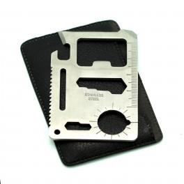 Stainless Steel Multi Tool Card 11 in 1