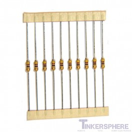 Single Value Resistor 10 pack : 1/4W 5% Carbon-Film