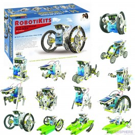 14-in-1 Solar Robotics Kit