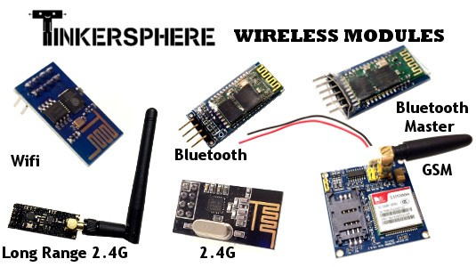 Wireless Modules for Raspberry Pi & Arduino