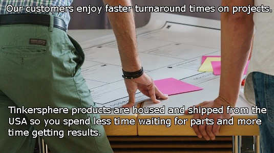 Faster turnaround times with Tinkersphere.